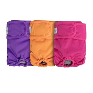 Teamoy -  3pc (small) dog diapers / washable